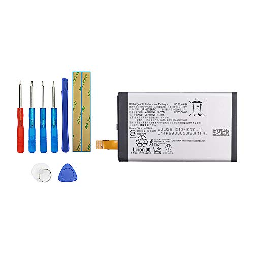 Vvsialeek LIP1657ERPC - Batteria compatibile per Sony Xperia XZ2 Compact XZ2 Mini H8324 H8314 con kit di attrezzi