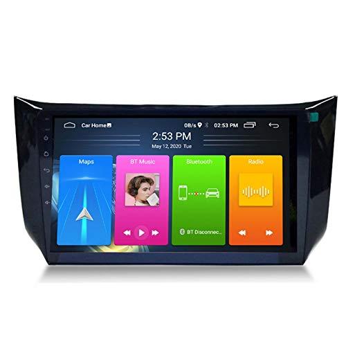 Android 8.1 Radio De Automóvil Para Nissan Sylphy B17 Sentra 2012-2018 Coche Coche Estéreo GPS Navegación Táctil Pantalla Coche Reproductor Doble Din Head Unit Support WiFi Volant(Color:4G+WIFI:1+16G)