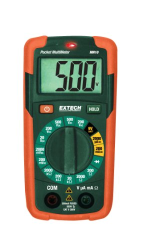 Extech MN10 Pocket Multimeter