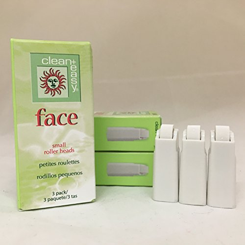 Clean+Easy Face Small Roller Heads, 3 Pack by Clean & Easy