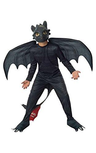 Costume pour Enfant Officiel « Dragon 2 » de Night Fury sans dent, Petite Taille par Rubie's