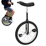 uyoyous 20 Inch Wheel Unicycle for Adults Kids One Wheel Bike with Alloy Rim Pedal Balance Training Cycling Bike Outdoor Sports...