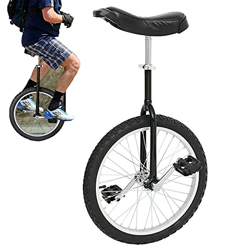 uyoyous 20 Inch Wheel Unicycle for Adults Kids One Wheel Bike with Alloy Rim Pedal Balance Training...