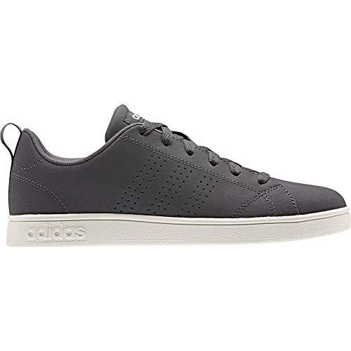 adidas Vs Advantage Cl, Zapatillas de Tenis para Mujer, Gris (Grey Five/Aero Pink S18/Cloud White Grey Five/Aero Pink S18/Cloud White), 36 EU
