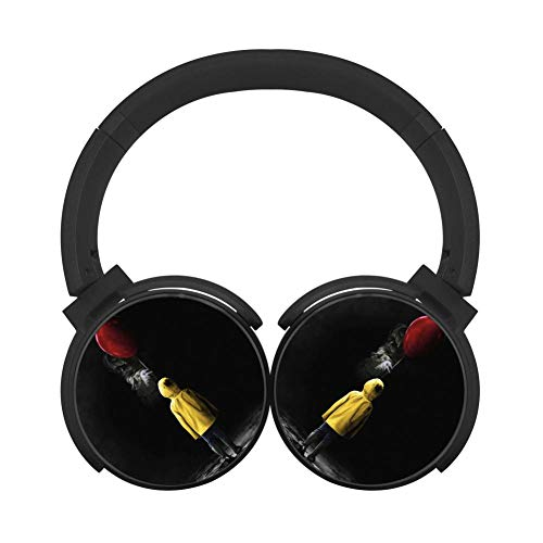 Mobile Wireless Bluetooth Clown-xIT Various Over Ear Headphones Black