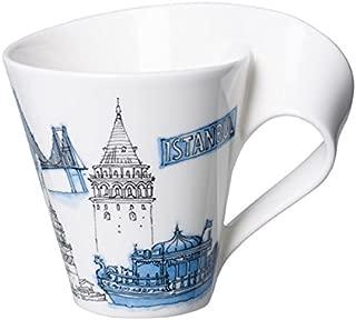 Villeroy & Boch Cities of the World Coffee Mug Istanbul, 300 ml, Premium Porcelain, White/Multicolour