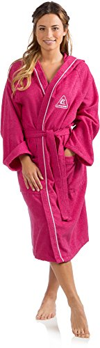Cressi Swim Bathrobe Sport Bademantel, Lilac/Flieder, S