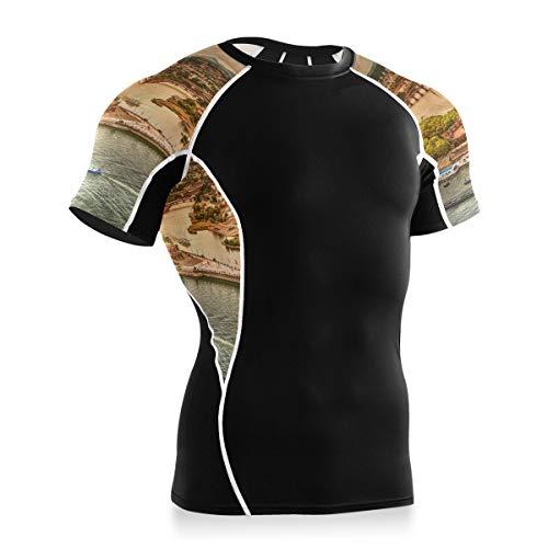 MONTOJ Koblenz View Workout Shirt Fahrrad Shirt Tops Biking Shirts Gr. XL, 1