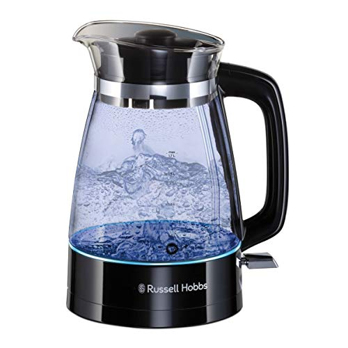 Russell Hobbs 26080 Hourglass Cordless Electric Glass Kettle - Artisan...