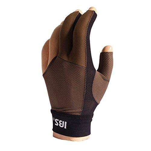 Manuel Gil Handschuh Billard IBS Glove Gold Mesh Army