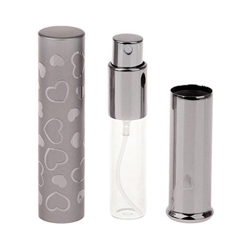 Gazechimp 7ml Atomiseur de Parfum Vide Flacon Vaporisateur Rechargeable Portable - Café