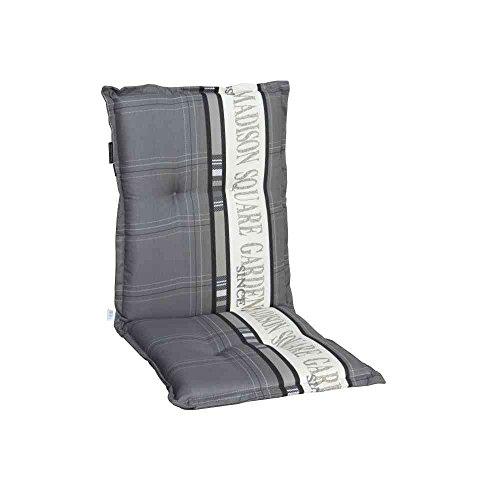 Madison 984848 Garden Coussin et Tapis pour Fauteuil Empilable Coton/Polyester/Revêtement
