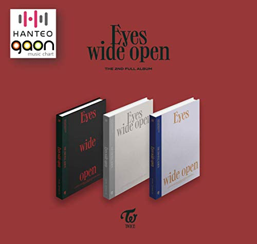 JYP Ent. Twice - Eyes Wide Open [Story ver.] (The 2nd Full Album) [Pre Order] CD+Photobook+Folded Poster+Others with Tracking, Extra Decorative Stickers, Photocards