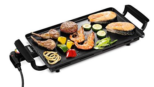 Princess 102209 Economy Table Chef – Plancha con termostato extraíble, revestimiento antiadherente robusto