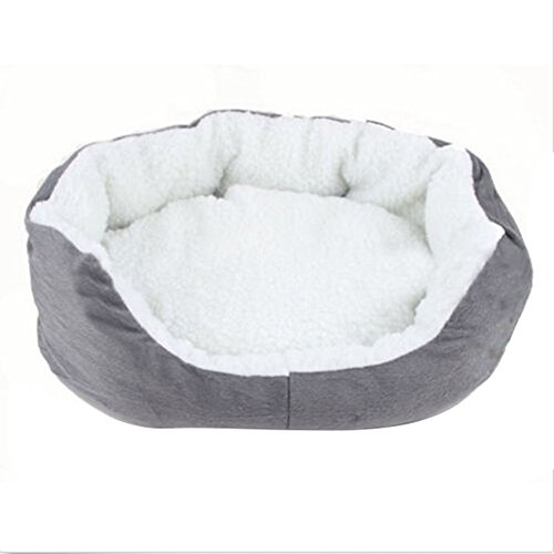 Faltbare Hundebett Katzenbett Warme Tierbett Haustierkörbchen Hunde Sofa Waschbar Fleece