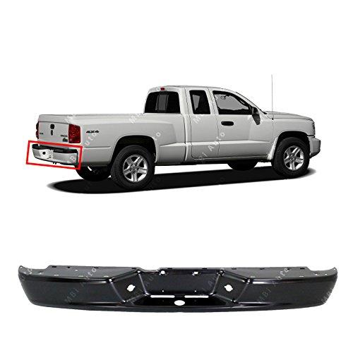 MBI AUTO - Primered, Steel Rear Bumper Face Bar Shell for 2005-2011 Dodge Dakota Pickup 05-11, CH1102362
