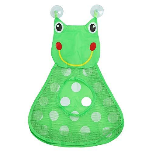 N/A Bath Toy Organizer Keep Toys Dry Without -Tub Toy Storage - Quick Dry Bath Toy Holder Green 18.5\