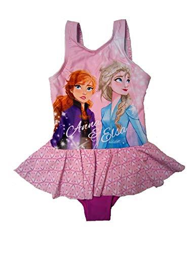 Frozen Die Eiskönigin Badeanzug (4-5 Jahre, Design 2 rosa)