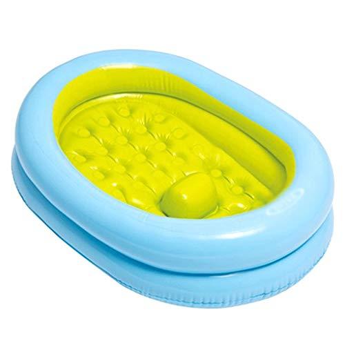 YWSZJ Bebé de la bañera Inflable no es fácil de deformar y ruptura, Puede Sentarse y Lay Infantil Bañera de hidromasaje, Bañera Plegable