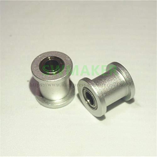 3D Printer - 2 pcs Replicator Aluminum Idler Z18 Metal RP unisex Max 70% OFF Pulley