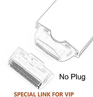 جهاز إزالة الشعر من زيني - 2 في 1 للنساء ماكينة حلاقة وإزالة الشعر الكهربائي بدون ألم ومزيل الشعر الفوري وبدون ألم - إضاءة...