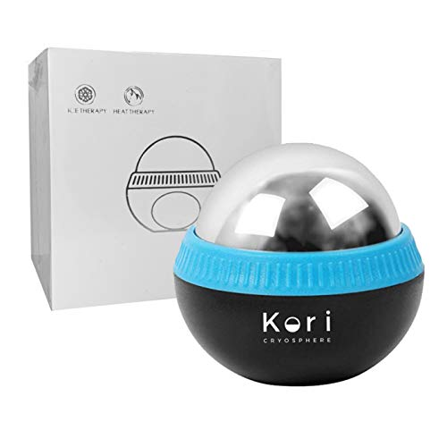 Lowest Prices! Kori Cryosphere Cold Massage Roller Ball - 6 Hours Cold/Hot Relief - Removable Ball -...