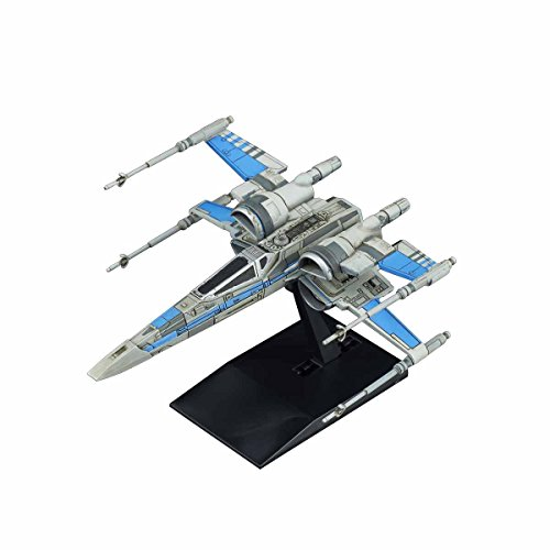 Bandai Vehicle Model 011 Star Wars / The Last Jedi X Wing Fighter RESISTANCE BLUE Company Specifications Plastic Model