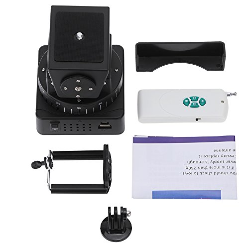 Andoer YT-260 Remote Control Motorized Pan Tilt Head for Extreme Camera WiFi Camera and Smartphone