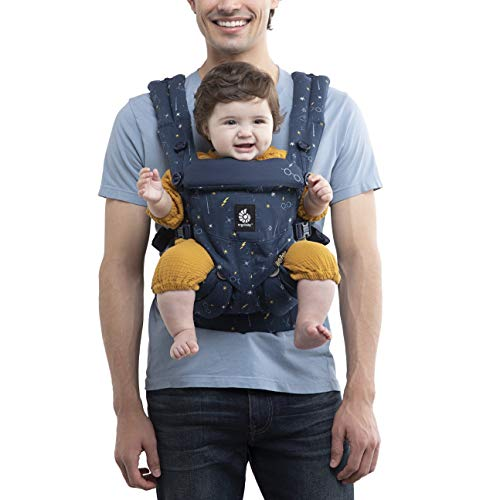 Ergobaby Harry Potter Baby Carrier, Omni 360 All Carry Positions Baby Carrier, Lumos Maxima