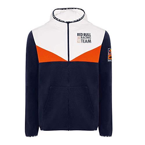 Red Bull KTM Fletch Zip Sudadera con Capucha, Hombres Small - Original Merchandise