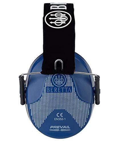 Beretta Orejeras ajustables de perfil bajo para protección auditiva, azul