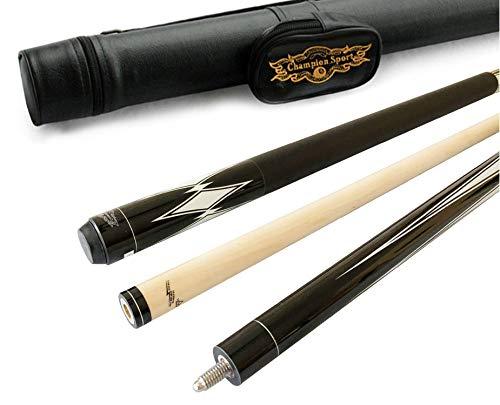 Gator Champion RT1 Retired Pool Cue Stick, 60 inch Long, 5/6x18 Joint, Same Taper as Predator 314 Shaft, Bonus Gift (Black Case, 18oz)