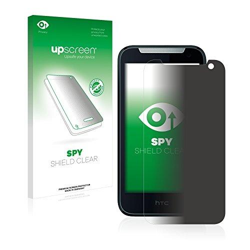 upscreen Anti-Spy Blickschutzfolie kompatibel mit HTC Desire 310 Privacy Screen Sichtschutz Bildschirmschutz-Folie