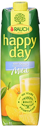 Rauch Happy Day Orange Mild+Ca, 6er Pack (6 x 1 l)