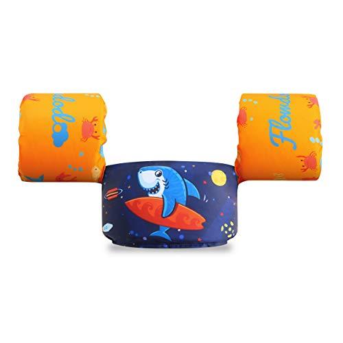 Best Review Of Flowdodo Life Jacket Swim Floaties Kids Swimming Pool Toys Float Vest Water Wings for...