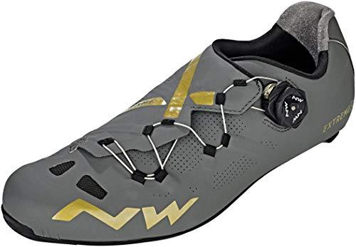 Northwave Extreme GT Rennrad Fahrrad Schuhe grau/goldfarben 2019: Größe: 36
