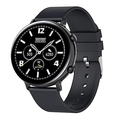 Reloj inteligente Ip68 impermeable ECG+PPG ritmo cardíaco Monitoreo de presión arterial recordatorio de salud para Android 5.1 y superior Ios9.0-B