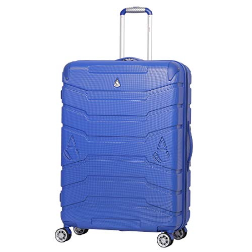 "Aerolite ABS Hard Shell Hold Check in Luggage Suitcase with 4 Wheels (29"", Midnight Blue)"