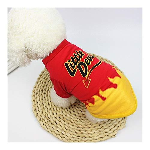 Disfraz de calabaza de JINAN para mascotas de Halloween y gato, divertida camisa de perro de Grimace Pug Candy-man, abrigo de Navidad para perros (color: demonio, tamao: XL)