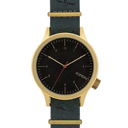 [KOMONO]コモノ 腕時計 メンズ ユニセックス MAGRITTE マグリット ブラックフラッグ