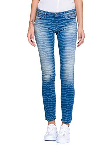 Armani Jeans - Damenhose, 25, Blu Denim