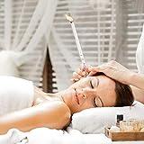 SUPVOX 10PCS Qualitt Ohr Gesundheit Liefert Wei Natrliche Wachs Reiniger Bienenwachs Kerze Fr Mnner Frauen Ohr Gesunde A35