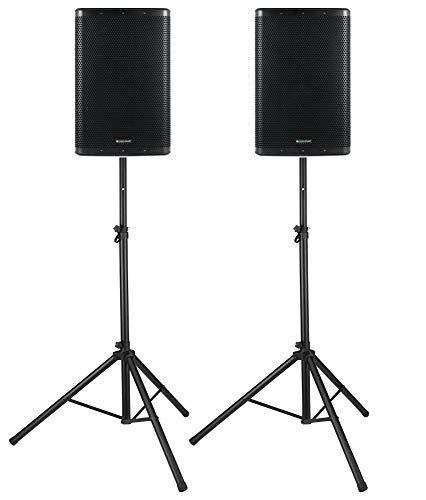 Pronomic C-215 MA Stative Set - Zwei aktive 2-Wege Boxen - Leistung: 1000 Watt (RMS) - 15