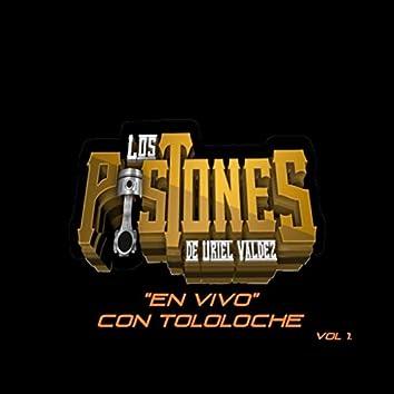 Los Pistones De Uriel Valdez Con Tololoche, Vol. 1