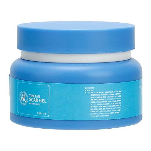 Crème de soin pour cicatrices et étirements, crème de réparation en gel pour les brûlures, cicatrices d'acné et marques, pour le visage, le visage et le corps dilués