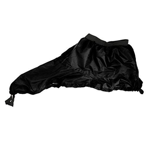 Perfeclan Spritzdecke Kajak Kanu Spritzschutz Abdeckung Cover 83cm - Schwarz, Einheitsgröße