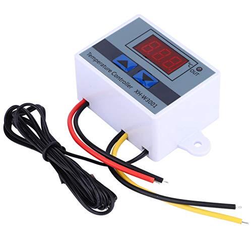 Cosiki Controlador de Temperatura Digital, Conveniente Interruptor de termostato, para incubación del área de incubación