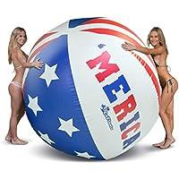 GoFloats 6' Merica Giant Inflatable Beach Ball