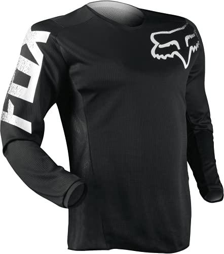 Fox Racing Kids' Youth Blackout Motocross Jersey, Black, Large