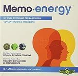 Erba Vita Integratore Alimentare Memo Energy - 10 Flaconi x 12 ml